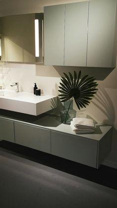 Sigdal Baderom - Lilly is Love Bathroom Design Luxury, Interior Design Kitchen, Bathroom Kids, Modern Bathroom, Washbasin Design, Modern Vanity, Beauty Room, Bathroom Furniture, Bathroom Inspiration