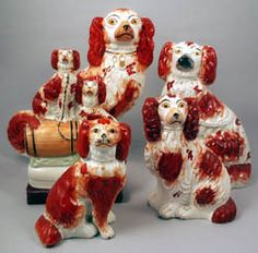 Staffordshire dogs
