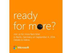 Microsoft agenda novo evento para 4 de Setembro
