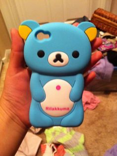 Rilakkuma case!!!!!!!! So cute