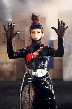 "Victoria Abril wears Gaultier in Pedro Almodóvar's ""Kika"", 1993"