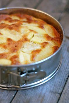 apfelkuchen, der lecker aussieht
