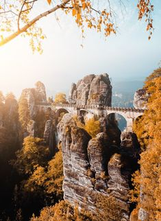 Saxony Switzerland Location: Saxony Switzerland with Bastei bridge. Germany, Europe. More pic to download: Creative Travel Projects at +Shutterstock ht... - Curtis branch - Google+