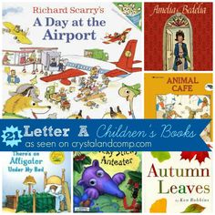 21 children's books to read as you learn the letter A
