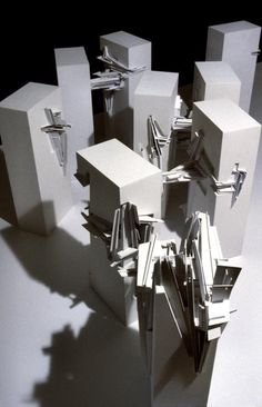 [Image: Lebbeus Woods, Lower Manhattan, view larger], Lebbeus Woods is one of … - Architecture Ideas Architecture Drawings, Classical Architecture, Architecture Design, Computer Architecture, Architecture Portfolio, Landscape Architecture, Lower Manhattan, Lebbeus Woods, Wood Images