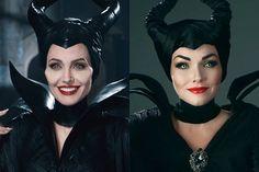 Maleficent' Makeup