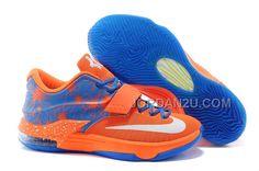 http://www.jordan2u.com/cheap-nike-kd-7-team-orangephoto-bluewhite.html Only$102.00 CHEAP #NIKE KD 7 TEAM ORANGE/PHOTO BLUE-WHITE #Free #Shipping!