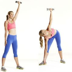 Ejercicios para brazos y cintura