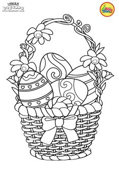 Easter coloring pages - Uskrs bojanke za djecu - Free printables, Easter bunny, eggs, chicks and more on BonTon TV - Coloring books Easter Coloring Pages Printable, Easter Egg Coloring Pages, Spring Coloring Pages, Cute Coloring Pages, Coloring Pages For Kids, Coloring Books, Fairy Coloring, Easter Art, Easter Crafts