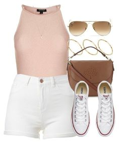 Sin título #12741 by vany-alvarado ❤ liked on Polyvore featuring Topshop, ASOS, Mulberry, Converse, Ray-Ban and Minor Obsessions