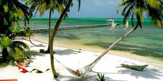 Ambergris Caye.  No shoes for a week.