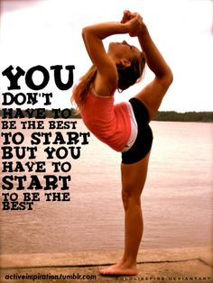 Welcome to The Paleo Network! Cheer hard - You don't have to be the best to start, but you have to start to be the best. moved from main Cheerleading board Cheerleading Quotes, Cheer Quotes, Sport Quotes, Gymnastics Sayings, Gymnastics Pics, Cheer Sayings, Ribbon Gymnastics, Quotes Quotes, Gymnastics Moves