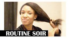 Bantu knots | Routine soir cheveux lisses ou défrisés