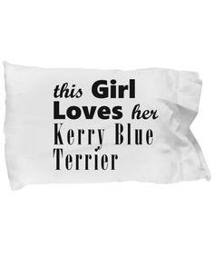 Kerry Blue Terrier - Pillow Case