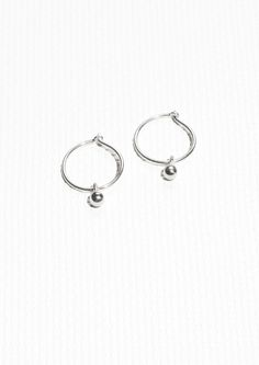 & Other Stories | Sterling Silver Earrings TOO DIFFICULT TO WEAR