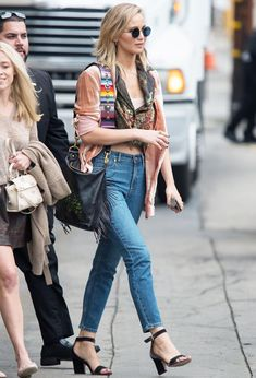 Jennifer Lawrence just wore the perfect affordable skinny jeans—see how she styled them and shop them for yourself.