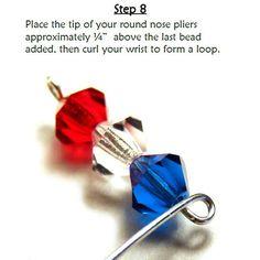 Crystal Cuff Bracelet PDF Beading Pattern