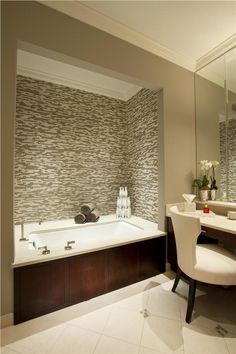 Contemporary (Modern, Retro) Bathroom by Michael Abrams