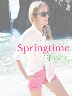 Style Guide: Springtime Shorts