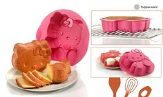 Tupperware - Hello Kitty Silicone Baking Form