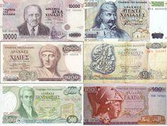 De drachma, de voorloper van de Griekse Euro: dat waren nog eens andere tijden voor de Grieken!
