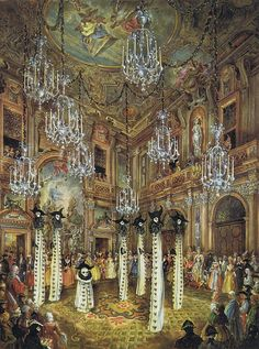 Bal du Siècle at Palazzo Labia in Venice 1951