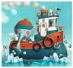 Pinzellades al món: Il·lustracions de Lara Dombret: petits i simpàtics animals
