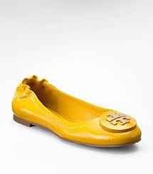 Tumbled Patent Leather Reva Ballet Flat