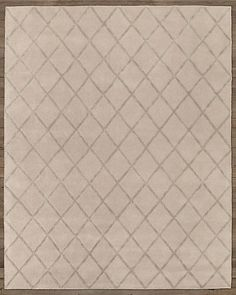 RH Baby & Child's Amari Trellis Rug:Hand tufted from pure wool, this pastel pile rug offers a soft counterpoint to a simple tonal lattice. Woven in viscose, the versatile design adds graphic punch and a touch of luster to the dense, foot-friendly rug.