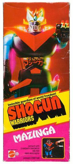 Shogun Warriors Mazinga