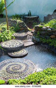 stepping stones in water - Google Search
