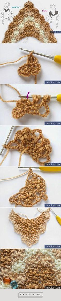 Chal paso a paso con imágenes y texto - Patrones Crochet