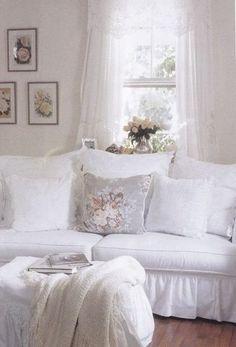 20 Amazing Shabby Chic Living Rooms - Exterior and Interior design ideas
