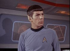 Well then. And that is Spock portraying the Vulcan emotion of *oh shit*