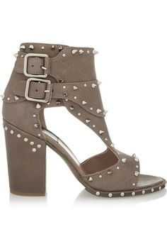 Laurence Dacade   Deric studded leather sandals   NET-A-PORTER.COM