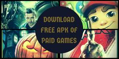 How to get #APK files for latest and popular games for free.