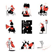 New Yorker Spots pt.4 - Roman Muradov