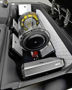 A Custom 5700 Watt Jl Audio Sound System
