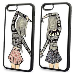 Cheap case for samsung galaxy, Buy Quality case for samsung directly from China case for Suppliers: Two Girls Best Friends Cover Case for Samsung Galaxy 2016 Prime Core Prime Grand Prime Grand Neo Alpha Bff Cases, Cute Cases, Cool Iphone Cases, Cute Phone Cases, Matching Phone Cases, Friends Phone Case, Jelly Case, Bestest Friend, Cute Diys