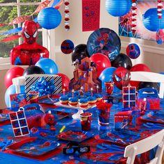 Best Kids Birthday Decoration Ideas - Spiderman birthday party ideas.