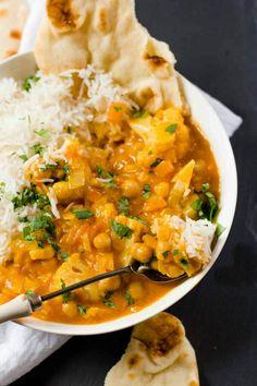 Chickpea & Cauliflour Curry