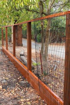 DIY Fence Ideas: Wood and Welded Wire Panel Fence We are want to say thanks if y. - DIY Fence Ideas: Wood and Welded Wire Panel Fence We are want to say thanks if you like to share th -