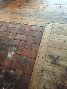Brick Flooring, Wooden Flooring, Home Reno, Bushcraft, Architecture, My Dream Home, Building A House, New Homes, Decoration