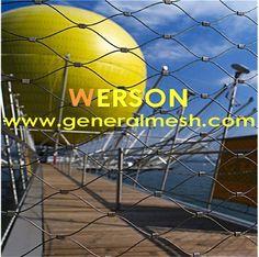 Generalmesh Webnet hálóbetét, kábelrács, rozsdamentes acél zoológiai szekrények kötélháló, x hálós háló, x hajlékony kábelháló, állatkert háló, zöld fal, zöld rács, állatkert ház, állati zárt, fekete-oxid háló, feszítőhálók, korlát betétpanel , korlát, Zoo-Net, lépcsős sín, Balustrade a lépcsőházon SUS 304 316 316L, drót háló, állatkerti háló