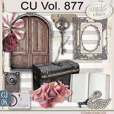 CU Vol. 877 {Vintage/Victorian}by Doudou's Design