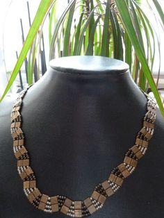 tila & seed beads