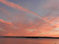 Sunset over Aquidneck Island