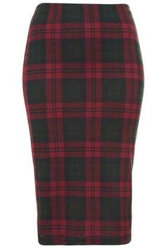 Plaid skirt - wear it with a chunky turtleneck or chambray shirt.