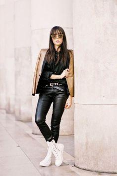 Paris Fashion Week AW 2014....Evangelie (via Bloglovin.com )