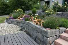 Slope attachment, slope support, drywall systems – Wetzlar, Central Hesse - All For Garden Drought Tolerant Shrubs, Garden Gadgets, Hesse, Landscaping Retaining Walls, Hydrangea Care, Dry Stone, Low Maintenance Landscaping, Garden Edging, Gardens